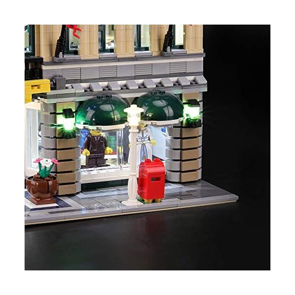 BRIKSMAX-Kit-di-Illuminazione-a-LED-per-Lego-Grand-Emporium-Compatibile-con-Il-Modello-Lego-10211-Mattoncini-da-Costruzioni-Non-Include-Il-Set-Lego