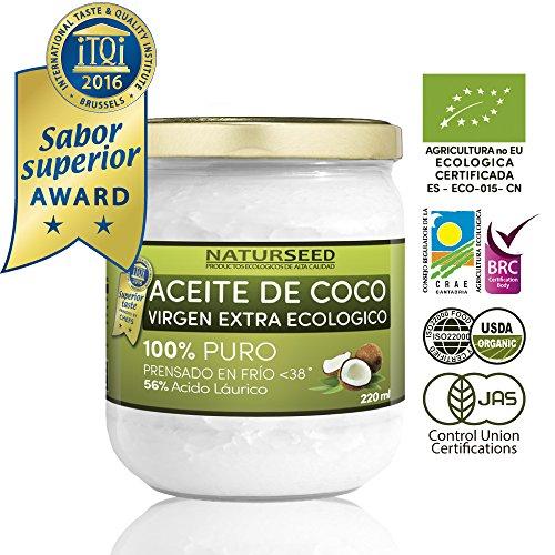 NATURSEED-Aceite-de-Coco-Virgen-Extra-Ecolgico-220-ml