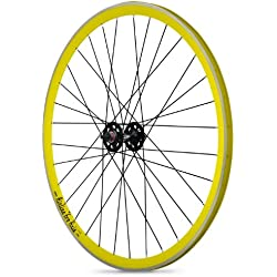 Rodi - Llanta para rueda trasera, color amarillo/negro