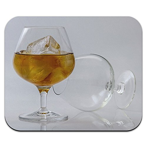 Brandy Cognac Gläser – Whisky Cocktail Mauspad Mauspad (Cocktail Mod)