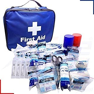 PolAmb Products LTD FA Football Touchline ELITE Physio Sports First Aid Kit Fully Kitted in Bag