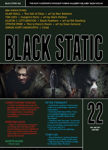 Black Static #22 (Black Static Horror and Dark Fantasy Magazine Book 2011)
