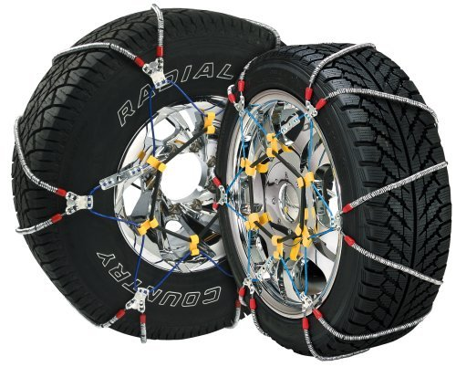 Security Chain Company SZ486 Super Z8 8mm Commercial and Light Truck Tire Traction Chain - Set of 2 by Security Chain -