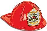 Generique - Roter Feuerwehrhelm für Erwachsene