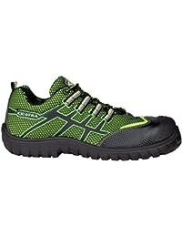 """Cofra 36300–000.w46Talla 46s1P SRC–zapatos de seguridad de """"Ghibli–Lima/Verde"""