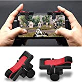 FidgetGear 1 Pair PUBG Moible Controller Gamepad Trigger PUGB Mobile Game Pad Grip L1R1 Joystick for iPhone Android Phone
