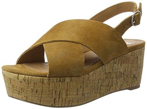 SPM - Casma Cork Sandal, Sandali Donna Braun (tan 013)