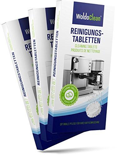 Reinigungstabletten für Kaffeemaschine & Kaffeevollautomaten kompatibel mit allen Herstellern 30 Stück a 2g
