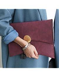 Kpop Fashion Women Envelope Clutch Bag High Quality PU Leather Ladies Evening Bag Chain Shoulder Bag Women's Totes...