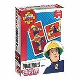 Feuerwehrmann Sam - Domino Legespiel Kinder Spiel 28 Karten