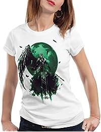 style3 Sephiroth VII T-Shirt Femme fantasy avalanche jeu de rôle ps ios japon