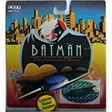 1993 Batman : The Animated Series #5 Batboat 1:64 Diecast Metal Vehicle & Collector Sticker by Ertl