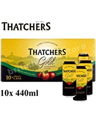Thatchers Refreshing Medium Dry Somerset Cider, 10 x 440ml