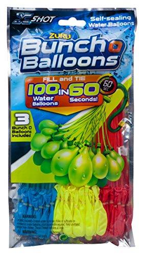 Zuru Bunch O Balloons Wasserbomben mit schnellem Füllsystem Bunch O Ballons 100