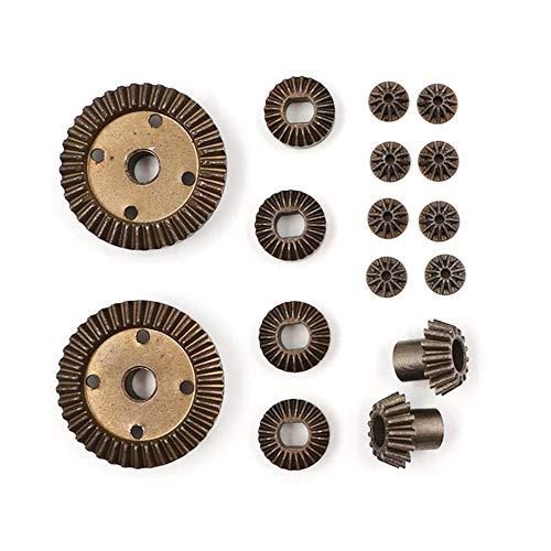 CA3532 16PCS/Set Durable Use 12T 24T 30T Motor Driving Gear Kits Set Gold -