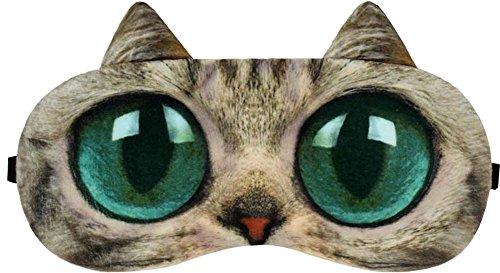 Big Eyes Cat Expression Sleep Masque Sleep Goggles Eye Cover