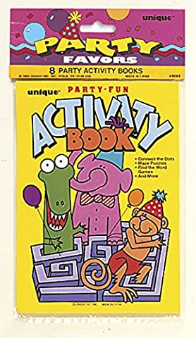 Activity Book Party Bag Fillers, Pack of 8