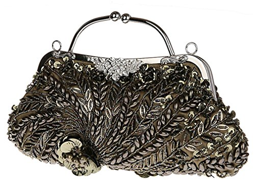 Elezay , Damen Clutch Bronze
