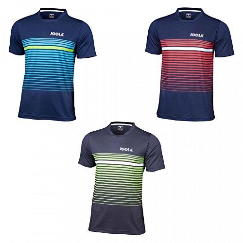 Joola T-Shirt Stripes, XL, Navy/rot