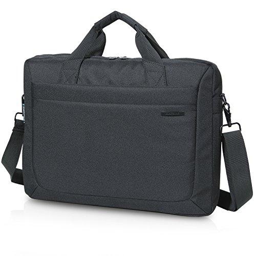 Lifewit Laptoptasche Herren 15,6 Zoll Taktische Umhängetasche Militärischer Schultertasche Wasserdicht aus Nylon Schwarz