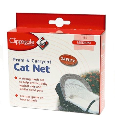 Clippasafe Filet de protection anti chat pour landau et porte bébé M UK Import