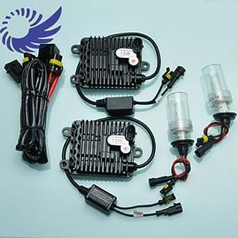 Kit de Conversion de Rechange Phares au HID Xenon Ballast Digital Numerique Ultra Slim AC 12V 75W H1 6000K