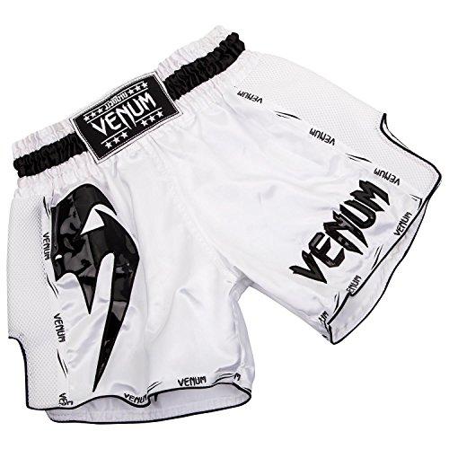Venum Herren Giant Thaibox Shorts Weiß/Schwarz, L