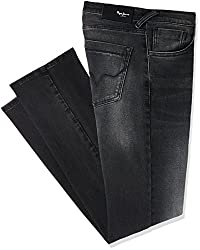Pepe Jeans Mens Scott Md Straight Fit Jeans (8907557297438_PIMD200009USED BLACK36)