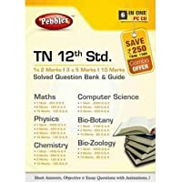 Pebbles Tn 12th Std. Solved Question Bank And Guide - All Science Subjects (DVD)