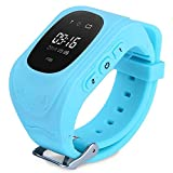 Jenix Kids GPS Children GPS GPRS Tracker Smart Watch Monitor SOS Call GSM Phone ,Smart Watch for Kids with Sim Card Smartwatch Phone Anti-lost Finder Children Fitness Tracker Wrist Bracelet with Parents Control App for Smartphone Bright OLED GPS Tracker JXQ50B