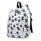 Resplend Mode Schüler Schultasche Freizeit Backpacks Beiläufig Reißverschluss Rucksack Vintage Einfach Schulrucksack Handtasche (B)