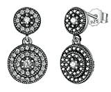 Lieberpaar Damen 925 Sterling Silber Diamant Tropfen Ohrstecker Ohrringe Ohrhänger Als Weinachten Geschenk