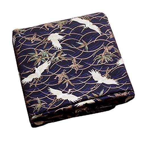 Black Temptation Telas Hechas a Mano de Estilo japonés -DIY Regalos Bolso/Kimono / Fundas de Almohada-A7
