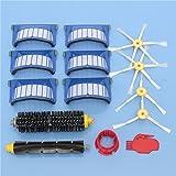 Yongse 14pcs Kit de accesorios para aspiradoras Filtros y Cepillos para iRobot Roomba serie 600