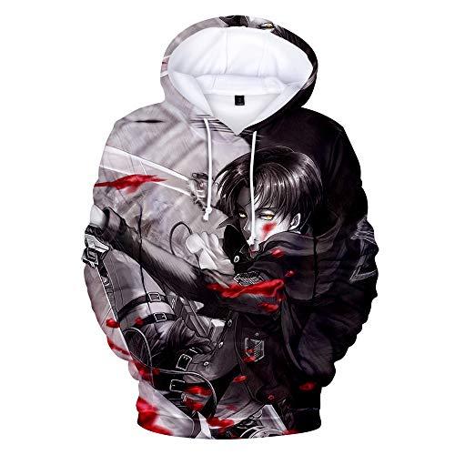 DuHLi Anime Shingeki No Kyojin Das Vermessungskorps Cosplay Thermal Kostüm Hoodie - Toga Kostüm Muster