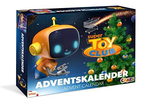 CRAZE tolle Inhalte 202 Adventskalender SUPER Toy Club 2019 Weihnachtskalender für Mädchen und Jungen Spielzeug Kalender 20289
