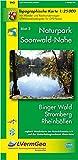 Naturpark Soonwald-Nahe /Binger Wald, Stromberg, Rheinböllen (WR): Naturparkkarte 1:25000 mit Wander- und Radwanderwegen und mit dem Soonwald-Steig (Freizeitkarten Rheinland-Pfalz 1:15000 /1:25000) - Landesamt für Vermessung und Geobasisinformation Rheinland-Pfalz