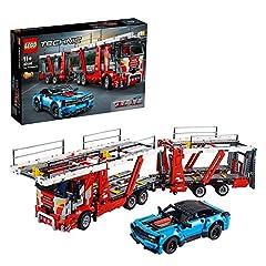 Idea Regalo - LEGO Technic Bisarca 42098 Set di Costruzioni per Ragazzi di +11 Anni, modello Ricco di Dettagli per una Esperienza di Gioco Sempre piu Realistica