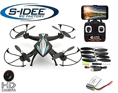 s-idee® 01114 | Quadcopter 4.5 Kanal 2,4 Ghz Quadrocopter RC ferngesteuerter Hubschrauber/Helikopter/Heli mit GYROSCOPE-TECHNIK + 2,4Ghz TECHNOLOGIE!!! für INNEN und AUSSEN brandneu mit eingebautem GYRO und 2.4 GHz Steuerung! FLUGFERTIG! von FAX2C