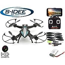 s-idee® 01114   Quadcopter 4.5 Kanal 2,4 Ghz Quadrocopter RC ferngesteuerter Hubschrauber/Helikopter/Heli mit GYROSCOPE-TECHNIK + 2,4Ghz TECHNOLOGIE!!! für INNEN und AUSSEN brandneu mit eingebautem GYRO und 2.4 GHz Steuerung! FLUGFERTIG!