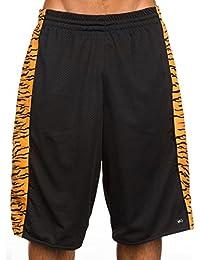 K1x Roar Panel Shorts Black Schwarz Tiger