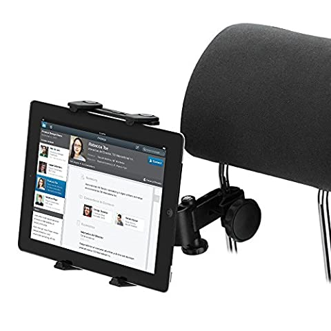 Tablet Car Holder, VIFLYKOO 360 Degree Rotation Backseat Holder Headrest Mount for Tablet - iPad pro/air, Samsung galaxy tab ,Huawei MediaPad , All-new