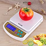 RYLAN Electronic Digital Kitchen Weighing Scale, Kitchen Scale Digital Multipurpose, Weight Machines for Kitchen, Weighing Machine, Weight Scale Kitchen, Kitchen Weighing Machine Digital(10 Kg)