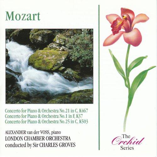 Mozart: Piano Concertos Nos 1, 21 & 25