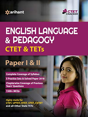 CTET and TETs English Language and Pedagogy Paper 1 and 2