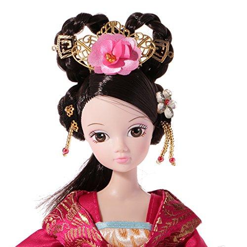 Gazechimp Handgemachte chinesische alte Fee Puppen Dekopuppe Spielzeug Geschenk für Mädchen - # (Kostüm China Antike)