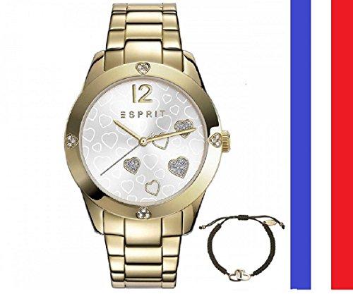 montre-quartz-acier-inoxydable-pour-femme-couleur-or-marque-esprit-4-coeurs-sur-le-contour-un-bracel