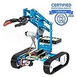 Makeblock mBot Ultimate, 10-in-1-Programmierbarer Roboterbaukasten, 160+ mechanische Bauteile und Module, Starke Hauptplatine MegaPi, Kompatibel mit Arduino und Raspberry Pi