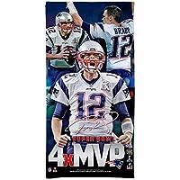 Wincraft Tom Brady 4x MVP New England Patriots NFL Serviette de plage