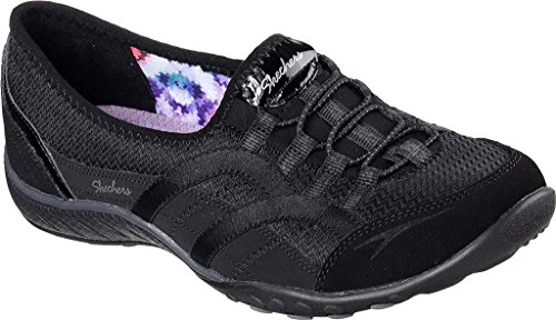 Skechers Faithful Textile Turnschuhe Black